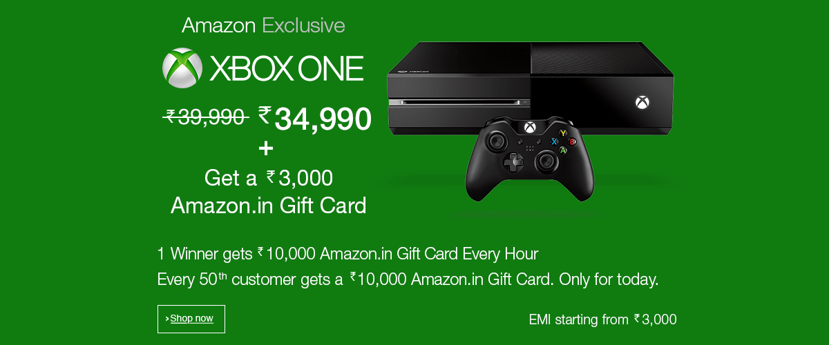Xbox One Console - India Exclusive Launch