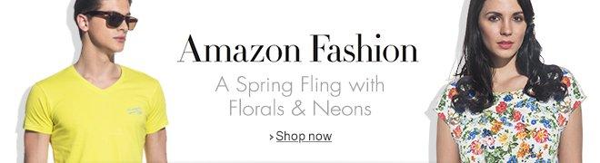 Amazon Fashion: Neons & Florals