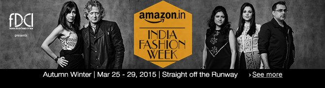 Amazon India Fashion Week: Live streaming and more