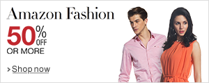 Fashion sale: 50% off or more