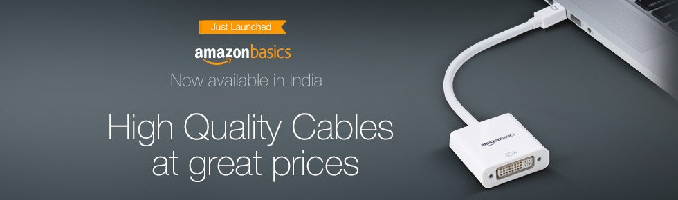 AmazonBasics - High Quality Cables