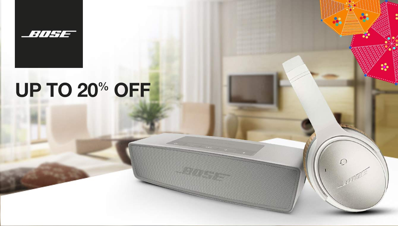 Bose up to 20% off