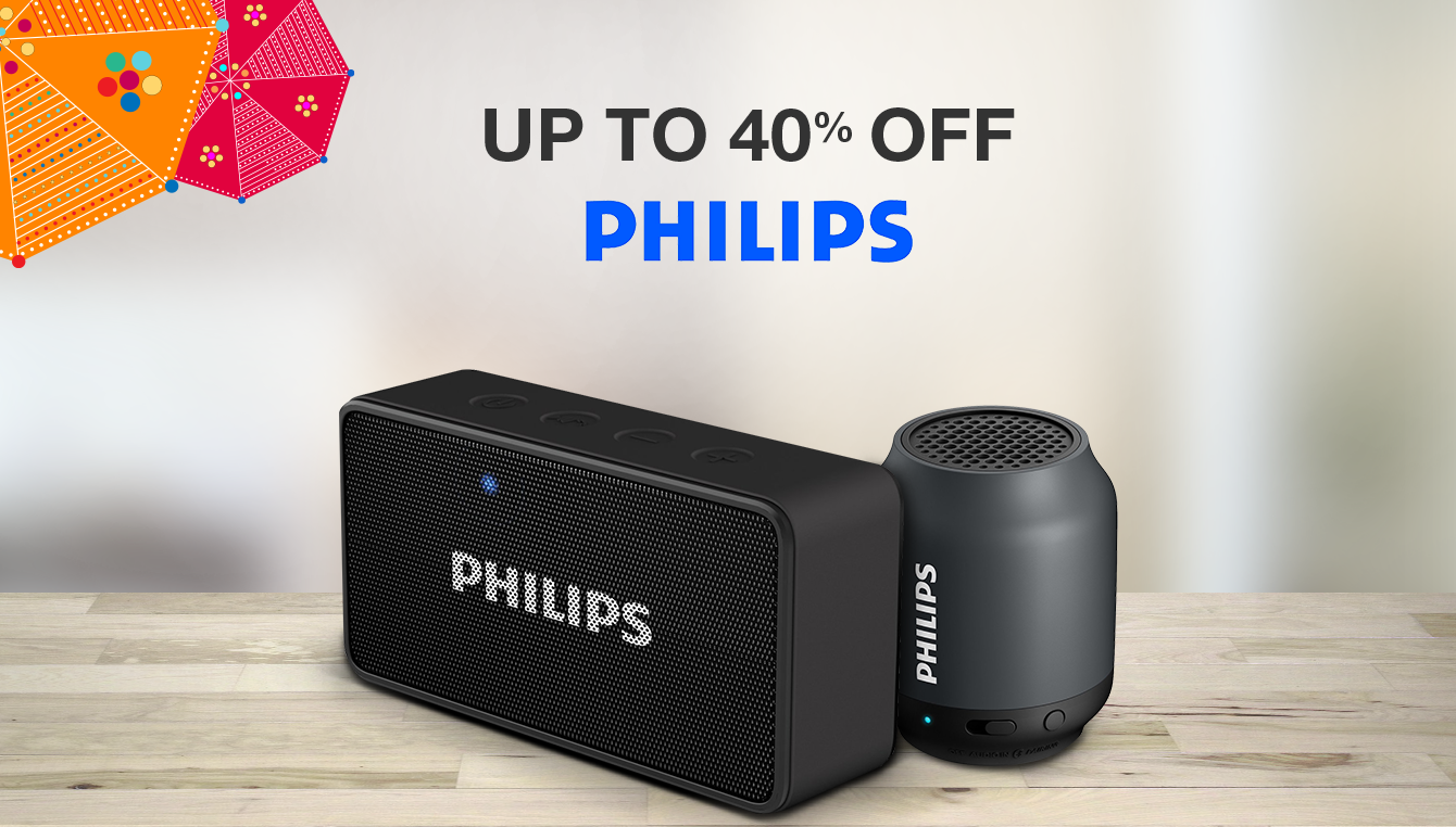 Philips  Up to 40% off