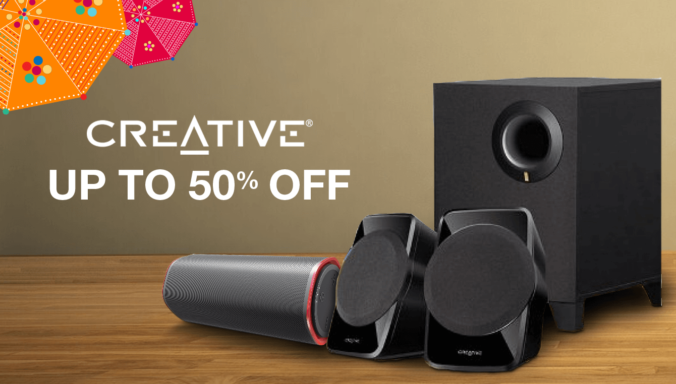 Creative Up to 50% off