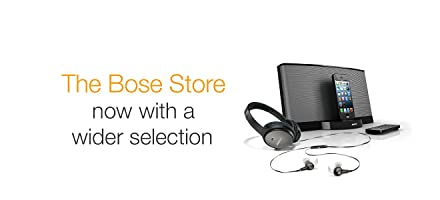 Bose Wider Selection