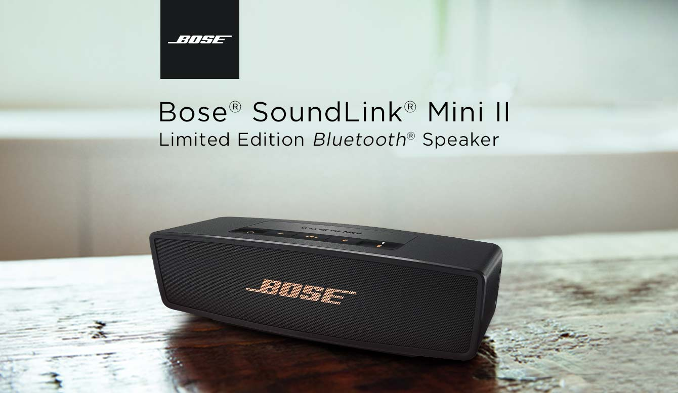 Bose soundlink Mini Bluetooth speaker Limited edition
