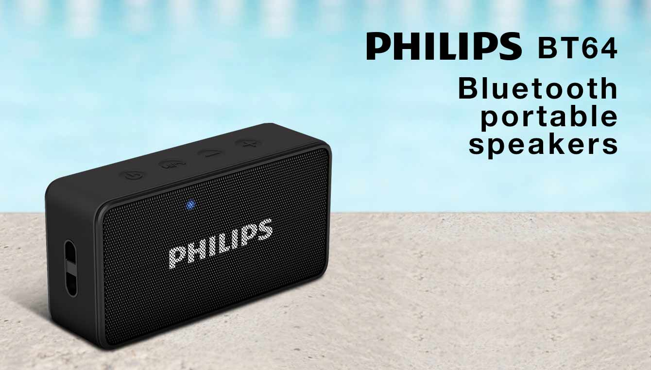 Philips BT 64 bluetooth speaker