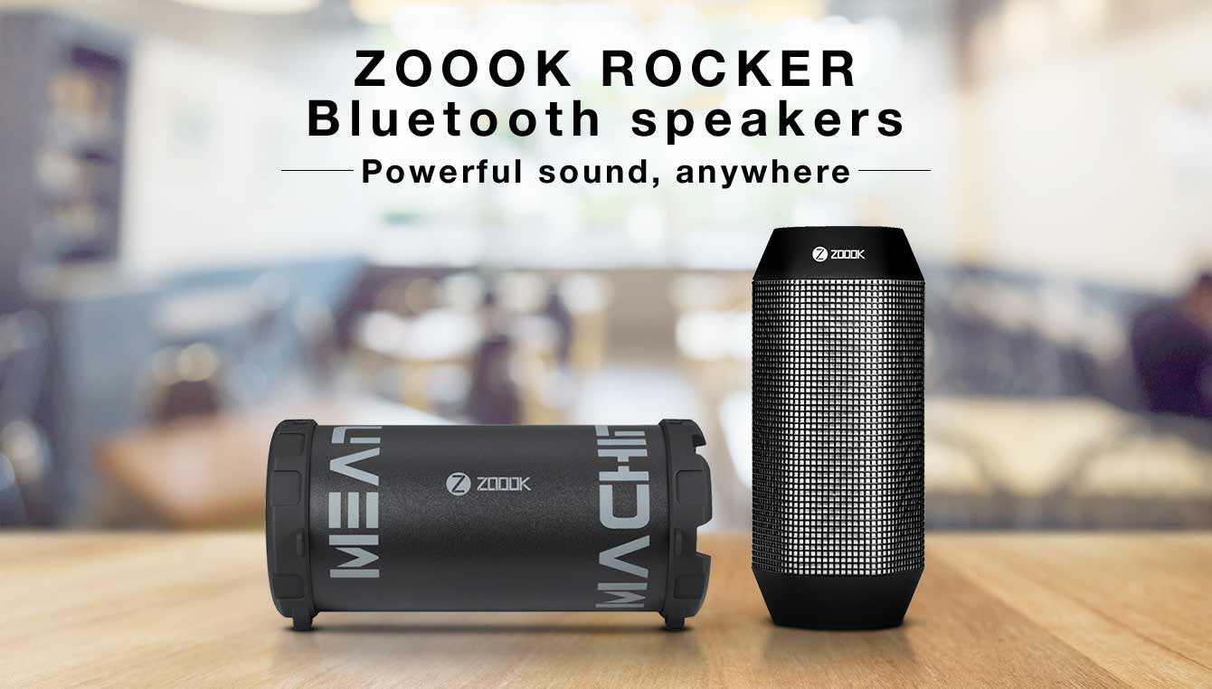 Zoook rocker bluetooth speakers