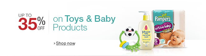 Up to 35% off on Toys & Baby Products