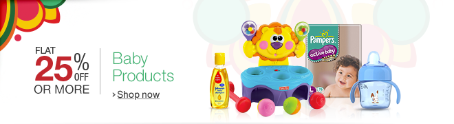 25% off or more on select Baby Products