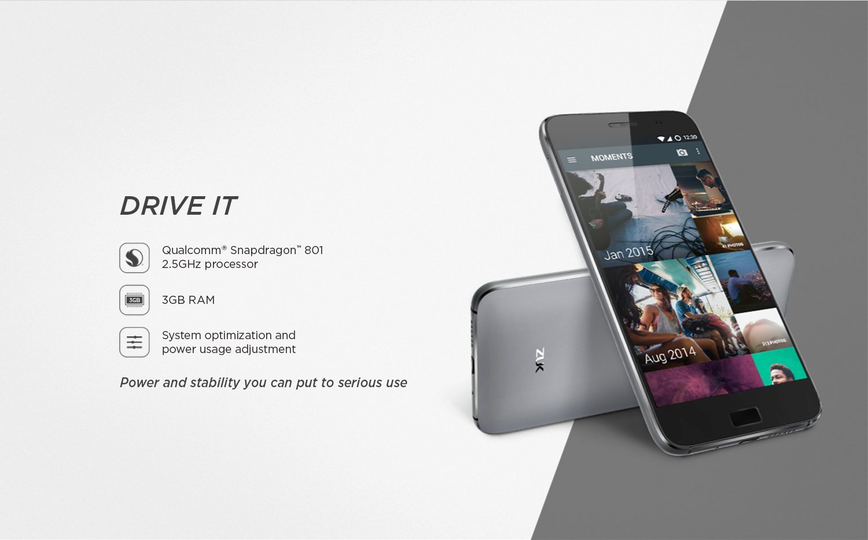 Snapdragon 2.5GHz processor