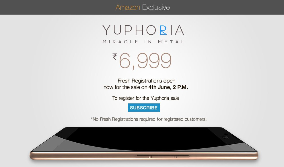 Trick to Buy Micromax Yu Yuphoria Successfully [Script ...