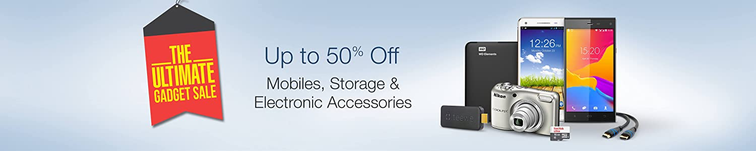 The Ultimate Gadget Sale @Amazon (6-8th October)