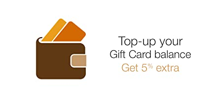 Top-up your Gift Card Balance