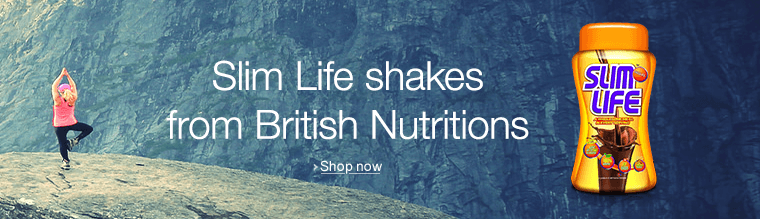 Slim life shakes with British Nutritions