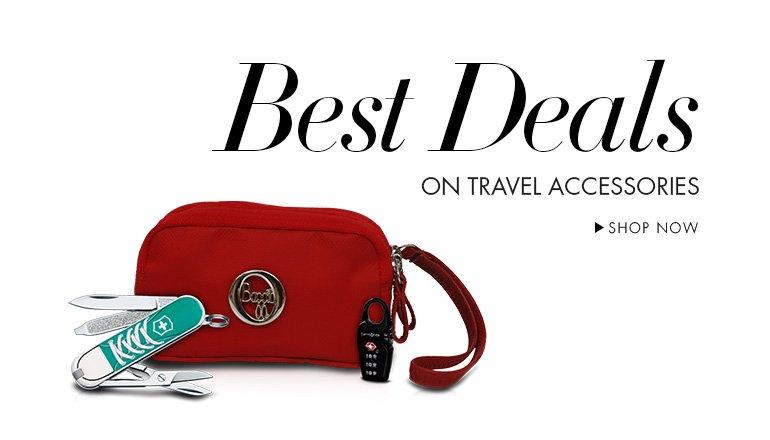 Deals on Travel Accessories