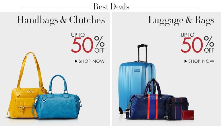Explore best deals on luggage, backpacks, duffles, men's bags ...