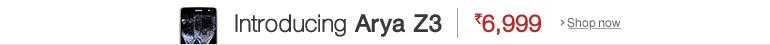 Arya Z3 Smartphone