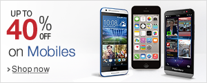 Mobiles 40% off