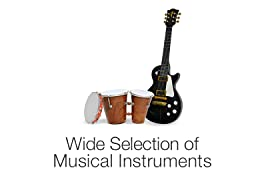 Wide range of Musical Instruments