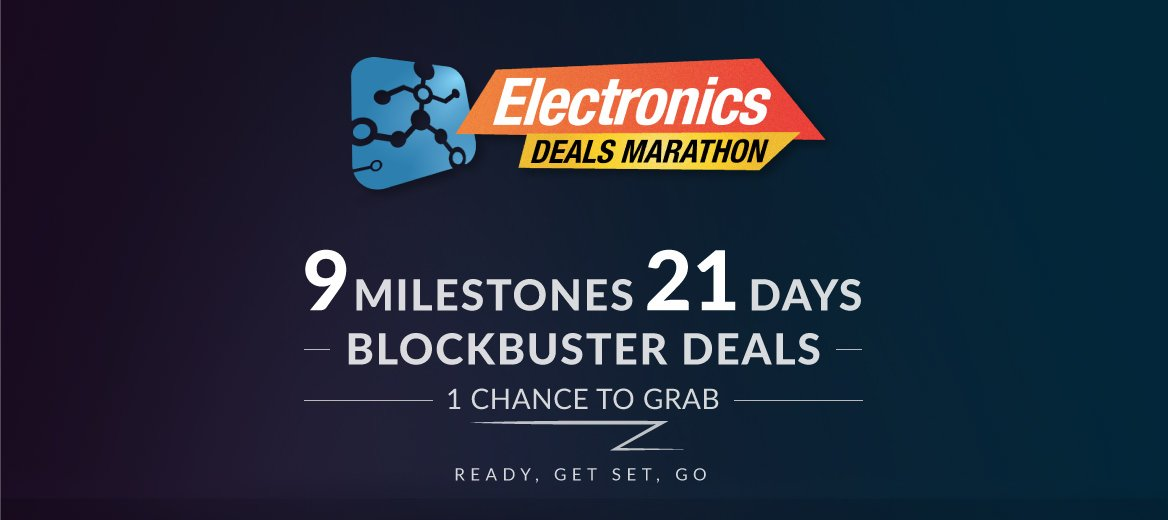 Electronics Deals Marathon