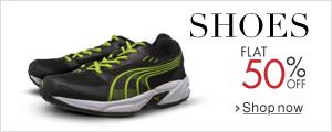 Flat 50% Off Shoes