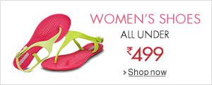 Women's Shoes under 499