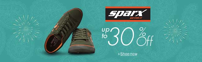 Sparx Shoes: Up to 30% off