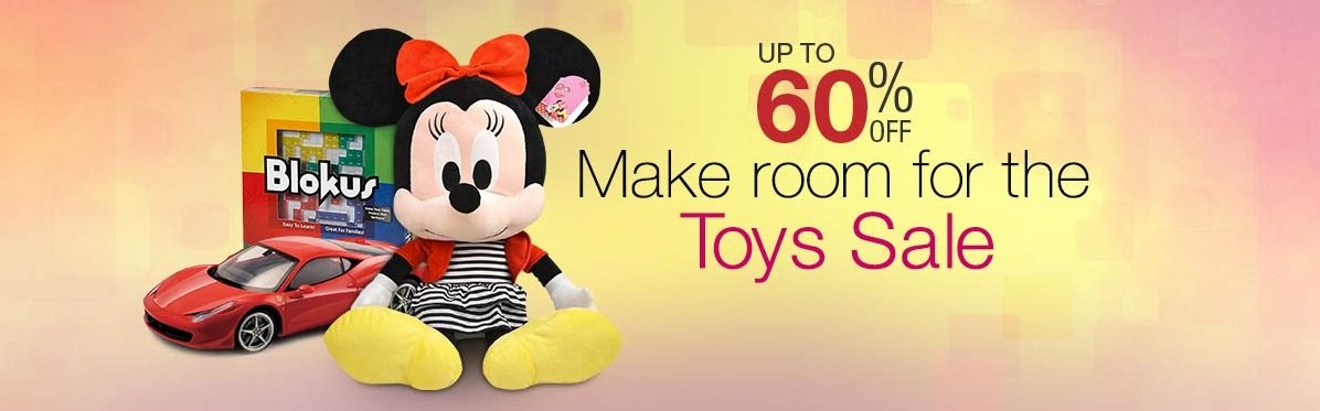 Make room for the Toys Sale