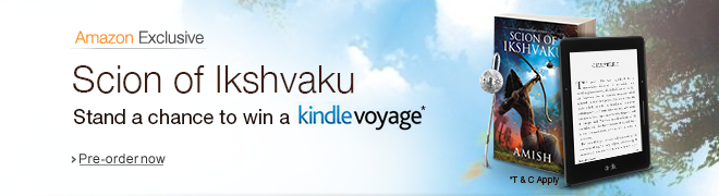 Scion of Ikshvaku: Stand a chance to win Kindle Voyage