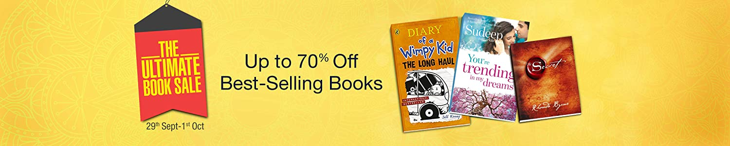 Upto70% Off on Best-Selling Books by Amazon.in