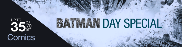 Batman Day Special Up to 35% Off Comics