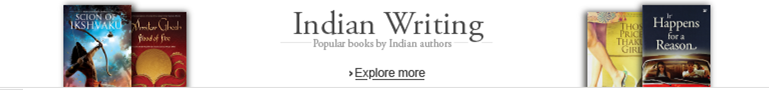 Indian Writing page banner