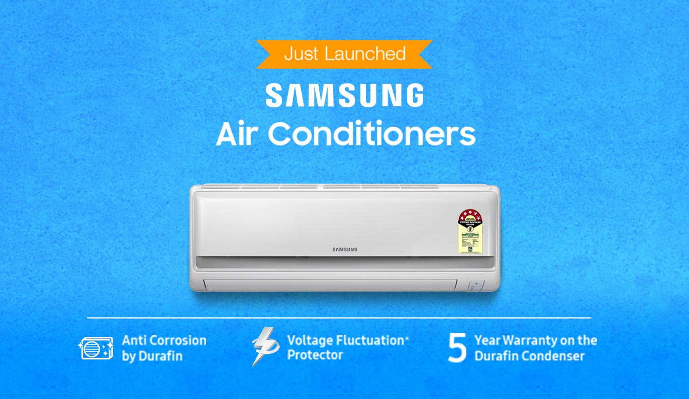 Large Appliances Online at Best Prices in India Buy Air Conditioners  #037EC8