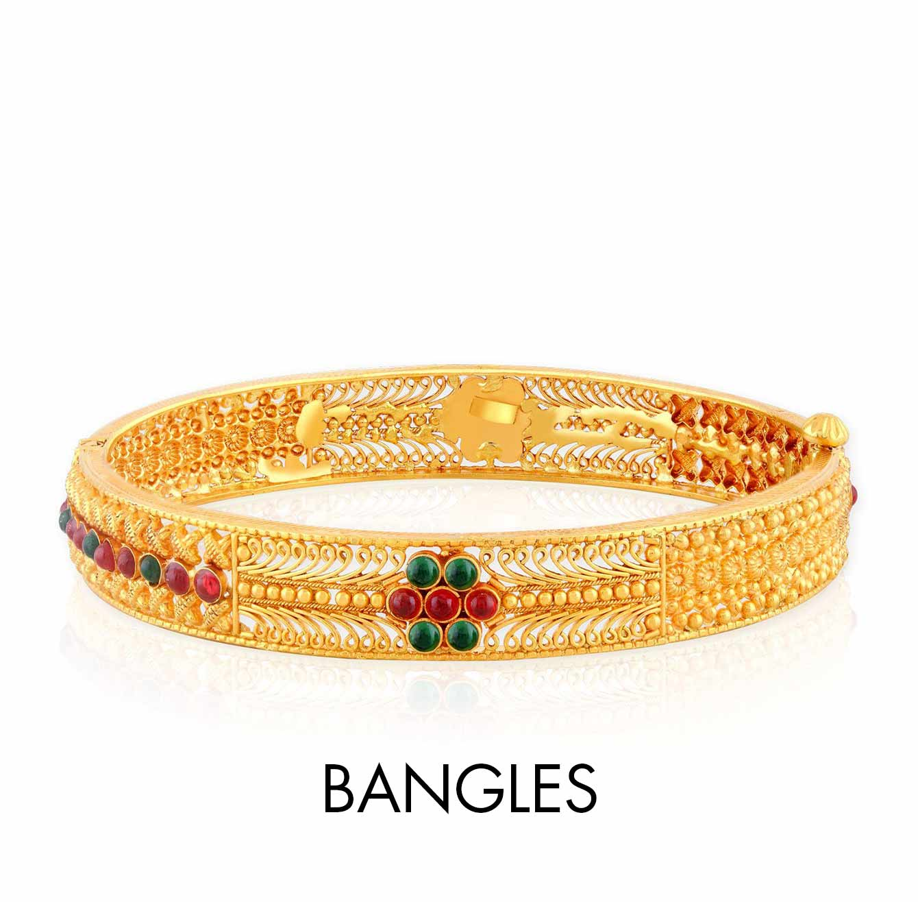 Malabar gold jewellery designs dubai - Malabar Gold Bangles Designs With Price