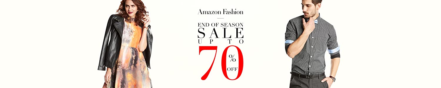 Amazon Fashion EOSS Up to 70% Off