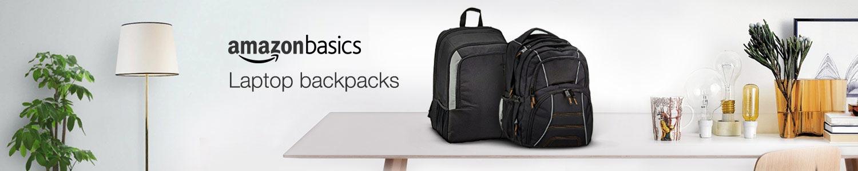 Basics laptop backpacks