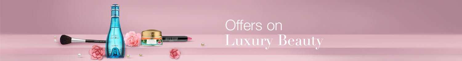 Offers on Luxury Beauty