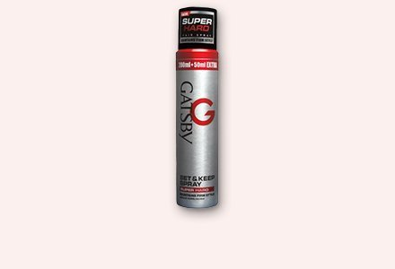 Gatsby Set and Keep Spray Super Hard, 250ml