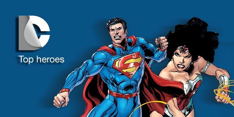 Top DC Heroes