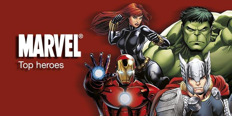 Top Marvel Heroes