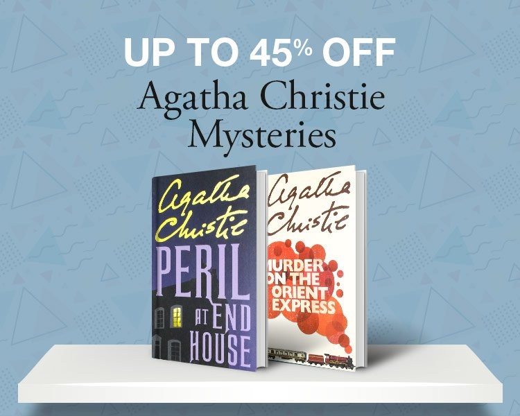 Up tp 45% off: Books by Agatha Christie