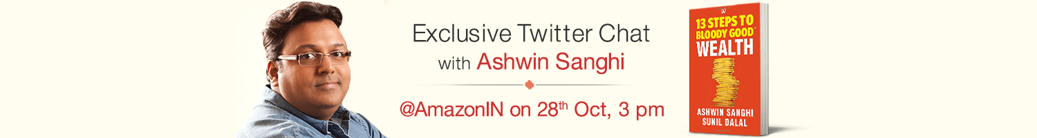 Twitter chat with Ashwin Sanghi