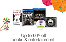 Up to 60% off books & entertainment