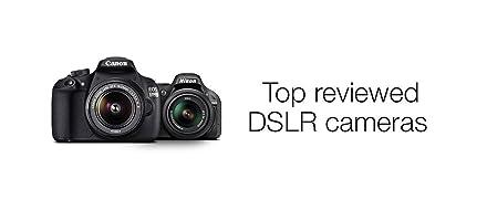 Top reviewed DSLR cameras