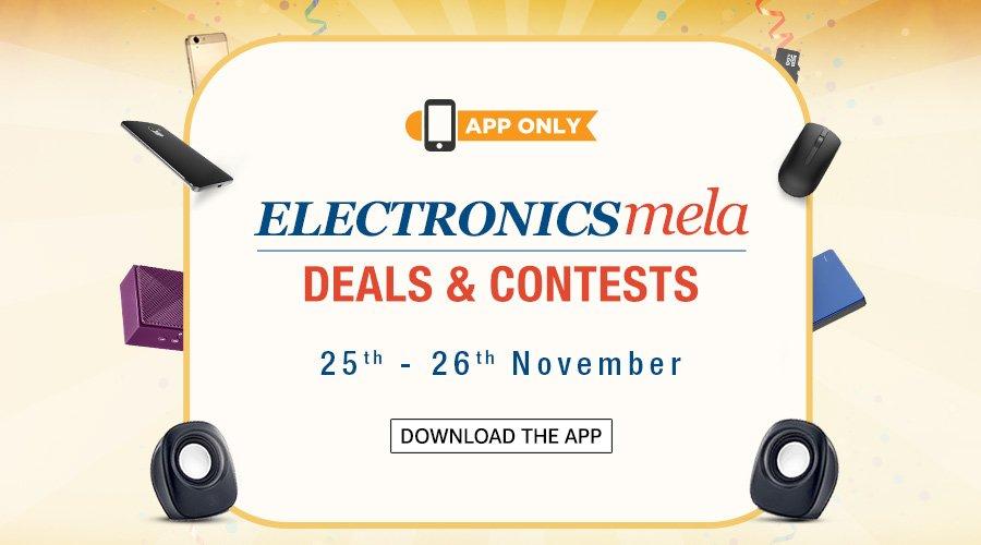 Amazon Electronics Mela @ Amazon.in – Electronics