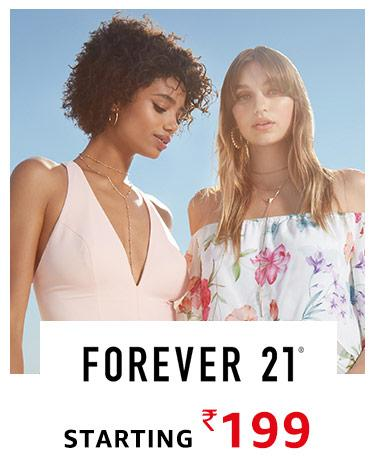 Forever 21 starting Rs 199 only!