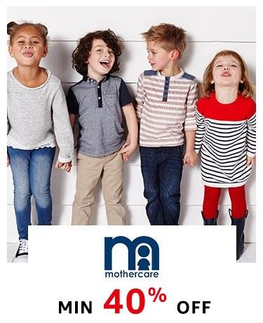 Mothercare min 40% off!