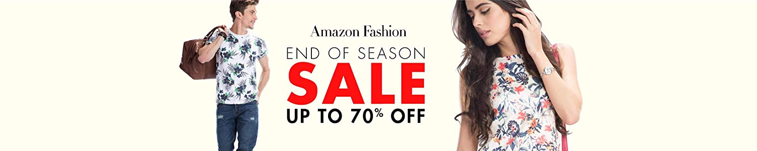 Amazon Fashion: End of season sale
