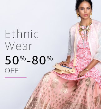 Ethnic Wear: 50% - 80% off